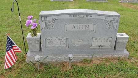 AKIN, REV. BOBBY MACK - Adair County, Kentucky | REV. BOBBY MACK AKIN - Kentucky Gravestone Photos