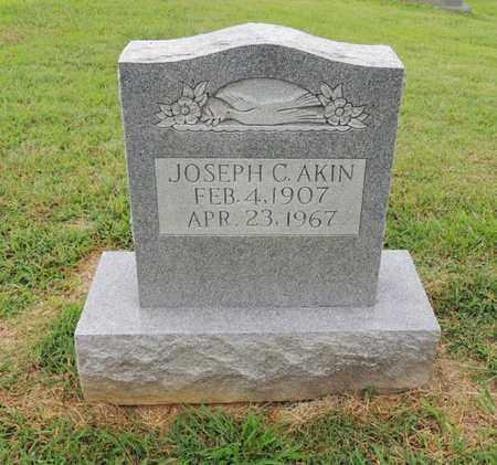 AKIN, JOSEPH CALDWELL - Adair County, Kentucky | JOSEPH CALDWELL AKIN - Kentucky Gravestone Photos