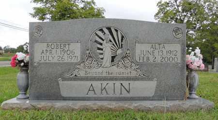 AKIN, ROBERT - Adair County, Kentucky | ROBERT AKIN - Kentucky Gravestone Photos
