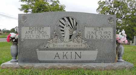 PIERCE AKIN, ALTA - Adair County, Kentucky | ALTA PIERCE AKIN - Kentucky Gravestone Photos
