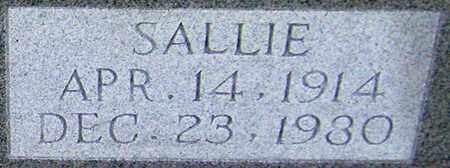 AKIN (CLOSEUP), SALLIE KATE - Adair County, Kentucky | SALLIE KATE AKIN (CLOSEUP) - Kentucky Gravestone Photos