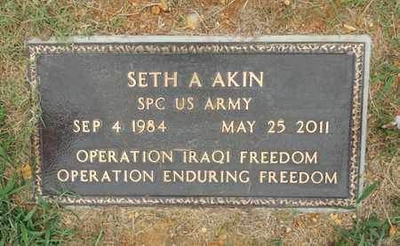 AKIN (VETERAN IRAQ), SETH ALLEN - Adair County, Kentucky | SETH ALLEN AKIN (VETERAN IRAQ) - Kentucky Gravestone Photos