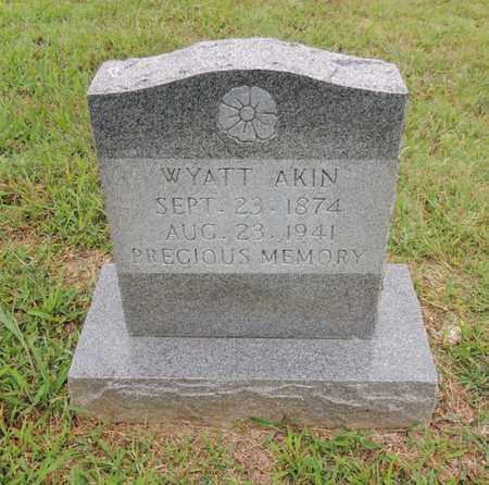 AKIN, WYATT - Adair County, Kentucky | WYATT AKIN - Kentucky Gravestone Photos