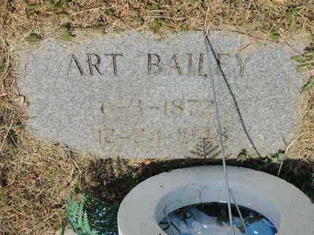 BAILEY, ART - Adair County, Kentucky   ART BAILEY - Kentucky Gravestone Photos