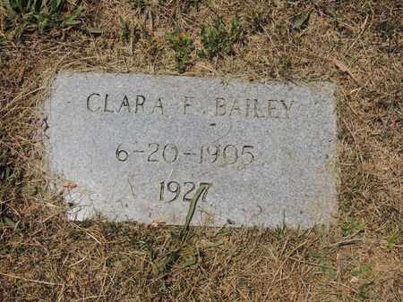 BAILEY, CLARA E - Adair County, Kentucky   CLARA E BAILEY - Kentucky Gravestone Photos