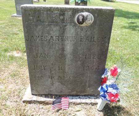 BAILEY, JAMES ARTHUR - Adair County, Kentucky | JAMES ARTHUR BAILEY - Kentucky Gravestone Photos