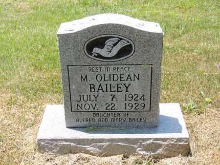 BAILEY, MARY OLIDEAN - Adair County, Kentucky | MARY OLIDEAN BAILEY - Kentucky Gravestone Photos