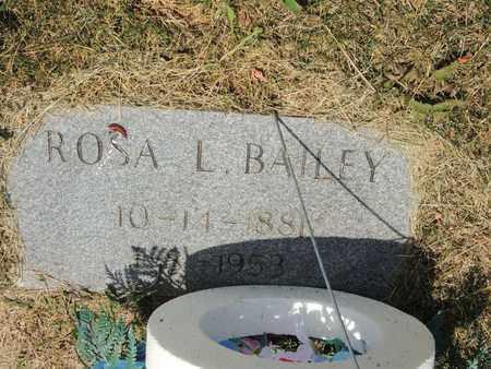 BAILEY, ROSA L - Adair County, Kentucky   ROSA L BAILEY - Kentucky Gravestone Photos