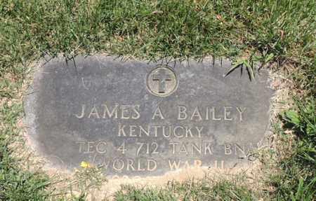 BAILEY (VETERAN WWII), JAMES ARTHUR - Adair County, Kentucky | JAMES ARTHUR BAILEY (VETERAN WWII) - Kentucky Gravestone Photos