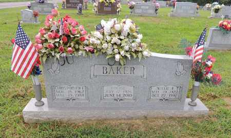 BAKER, WILLIE ELMER - Adair County, Kentucky | WILLIE ELMER BAKER - Kentucky Gravestone Photos