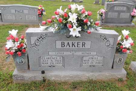 BAKER, CLARENCE EMBRY - Adair County, Kentucky | CLARENCE EMBRY BAKER - Kentucky Gravestone Photos