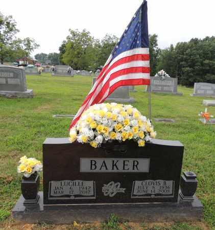 BAKER, LUCILLE - Adair County, Kentucky   LUCILLE BAKER - Kentucky Gravestone Photos