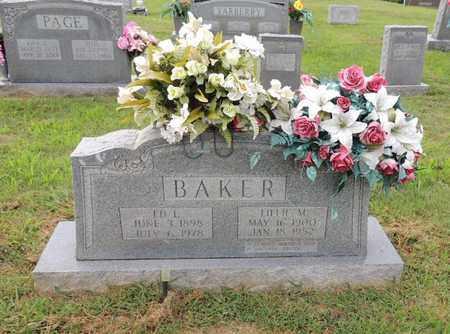 BAKER, LILLIE M - Adair County, Kentucky | LILLIE M BAKER - Kentucky Gravestone Photos