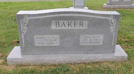AKIN BAKER, VINA - Adair County, Kentucky | VINA AKIN BAKER - Kentucky Gravestone Photos
