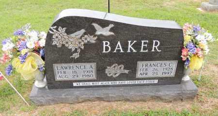 BAKER, LAWRENCE ALFRED - Adair County, Kentucky | LAWRENCE ALFRED BAKER - Kentucky Gravestone Photos