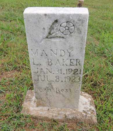 BAKER, MANDY L - Adair County, Kentucky | MANDY L BAKER - Kentucky Gravestone Photos