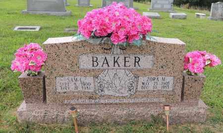 COOMER BAKER, ZORA M - Adair County, Kentucky | ZORA M COOMER BAKER - Kentucky Gravestone Photos