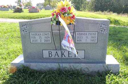 BAKER, VERNER PAYNE - Adair County, Kentucky | VERNER PAYNE BAKER - Kentucky Gravestone Photos