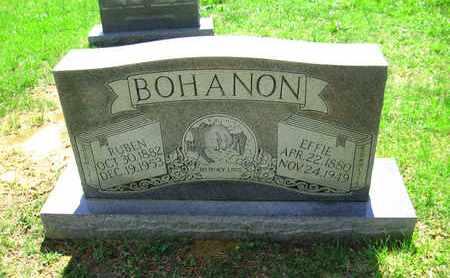 BOHANON, RUBEN - Adair County, Kentucky | RUBEN BOHANON - Kentucky Gravestone Photos