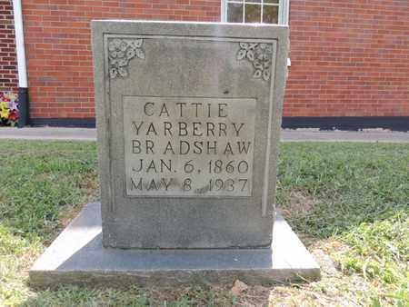 BRADSHAW, CATTIE YARBERRY - Adair County, Kentucky   CATTIE YARBERRY BRADSHAW - Kentucky Gravestone Photos