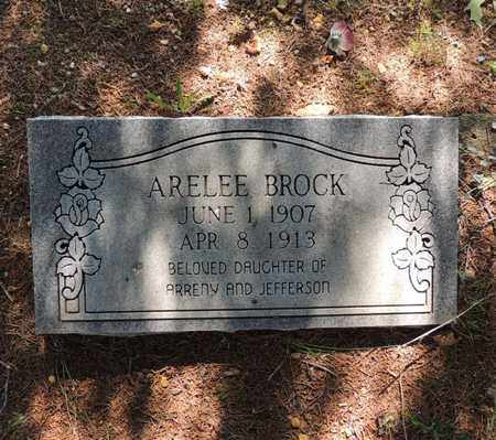 BROCK, ARELEE - Adair County, Kentucky   ARELEE BROCK - Kentucky Gravestone Photos