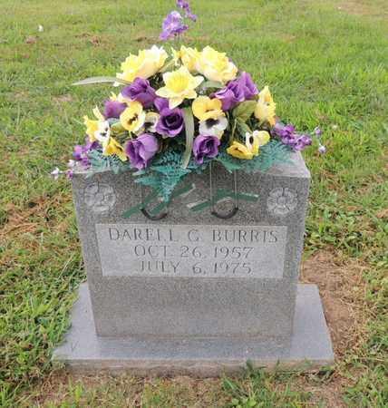 BURRIS, DARELL G - Adair County, Kentucky | DARELL G BURRIS - Kentucky Gravestone Photos
