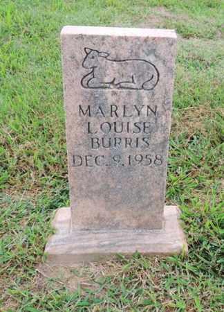 BURRIS, MARILYN LOUISE - Adair County, Kentucky | MARILYN LOUISE BURRIS - Kentucky Gravestone Photos