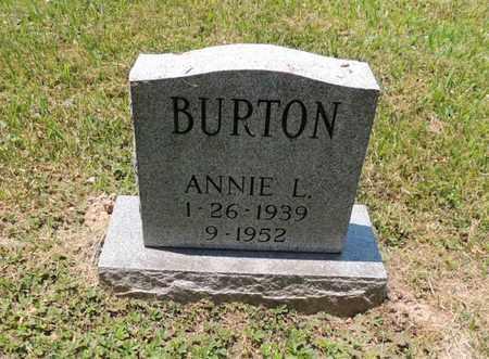 BURTON, ANNIE L - Adair County, Kentucky | ANNIE L BURTON - Kentucky Gravestone Photos
