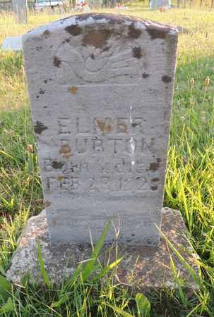 BURTON, ELMER - Adair County, Kentucky   ELMER BURTON - Kentucky Gravestone Photos