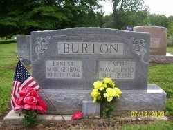 BURTON, HATTIE - Adair County, Kentucky | HATTIE BURTON - Kentucky Gravestone Photos