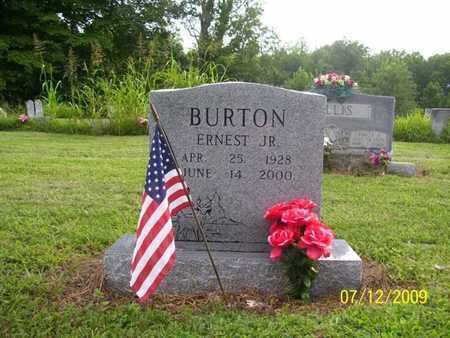 BURTON, ERNEST JR. - Adair County, Kentucky | ERNEST JR. BURTON - Kentucky Gravestone Photos