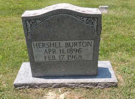 BURTON, HERSHEL - Adair County, Kentucky | HERSHEL BURTON - Kentucky Gravestone Photos