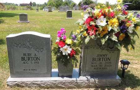 BURTON, JIMMY - Adair County, Kentucky | JIMMY BURTON - Kentucky Gravestone Photos