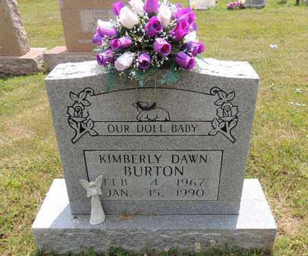 BURTON, KIMBERLY DAWN - Adair County, Kentucky | KIMBERLY DAWN BURTON - Kentucky Gravestone Photos