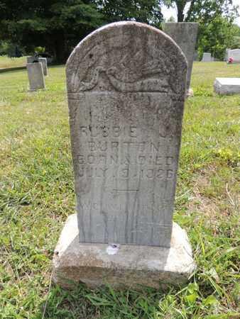 BURTON, ROBBIE - Adair County, Kentucky | ROBBIE BURTON - Kentucky Gravestone Photos