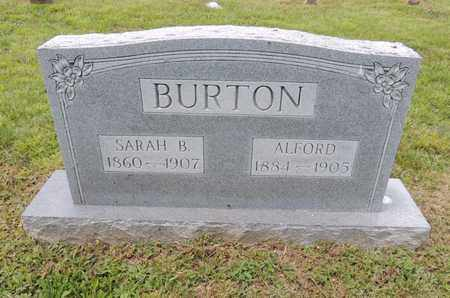 BURTON, SARAH B - Adair County, Kentucky | SARAH B BURTON - Kentucky Gravestone Photos