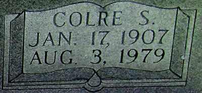 CAMPBELL (CLOSEUP), COLRE S - Adair County, Kentucky | COLRE S CAMPBELL (CLOSEUP) - Kentucky Gravestone Photos