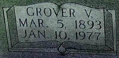 CAMPBELL (CLOSEUP), GROVER V - Adair County, Kentucky | GROVER V CAMPBELL (CLOSEUP) - Kentucky Gravestone Photos