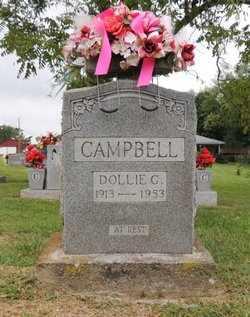 CAMPBELL, DOLLIE G - Adair County, Kentucky   DOLLIE G CAMPBELL - Kentucky Gravestone Photos