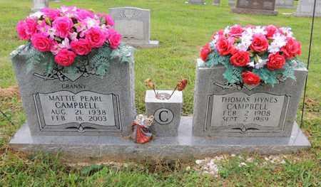 CAMPBELL, THOMAS HYNES - Adair County, Kentucky | THOMAS HYNES CAMPBELL - Kentucky Gravestone Photos