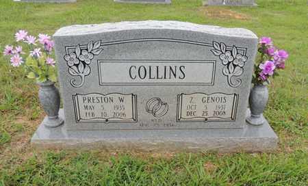 AKIN COLLINS, ZORA GENOIS - Adair County, Kentucky   ZORA GENOIS AKIN COLLINS - Kentucky Gravestone Photos