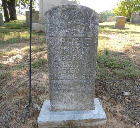 COMPTON, MIRTIE F - Adair County, Kentucky | MIRTIE F COMPTON - Kentucky Gravestone Photos