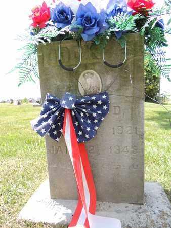 COOK, WILLIAM D - Adair County, Kentucky | WILLIAM D COOK - Kentucky Gravestone Photos