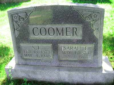 COOMER, SARAH E - Adair County, Kentucky | SARAH E COOMER - Kentucky Gravestone Photos