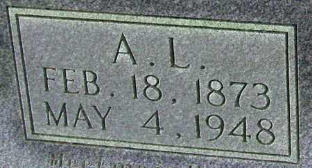 COOMER (CLOSE UP), A L - Adair County, Kentucky | A L COOMER (CLOSE UP) - Kentucky Gravestone Photos