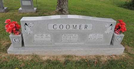 COOMER, MARY MAGDALENE - Adair County, Kentucky | MARY MAGDALENE COOMER - Kentucky Gravestone Photos