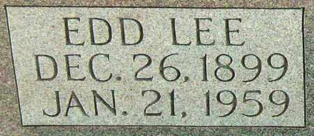 COOMER (CLOSE UP), EDD LEE - Adair County, Kentucky | EDD LEE COOMER (CLOSE UP) - Kentucky Gravestone Photos