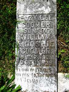 COOMER, ELZY LEE - Adair County, Kentucky | ELZY LEE COOMER - Kentucky Gravestone Photos