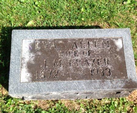 FRAZER, EVA - Adair County, Kentucky   EVA FRAZER - Kentucky Gravestone Photos