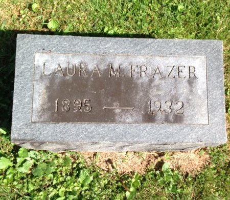 FRAZER, LAURA M. - Adair County, Kentucky | LAURA M. FRAZER - Kentucky Gravestone Photos